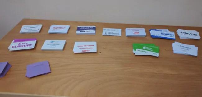 12 bulletins de vote pour 14 candidats (photo PF / Rue89 Strasbourg)