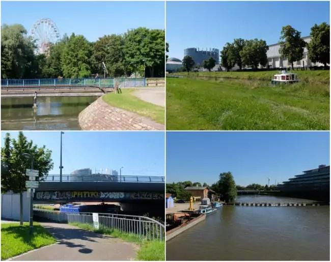 Du Marais au Wacken, barrages et pont sur le canal de la Marne-au-Rhin (Photos MM / Rue89 Strasbourg)