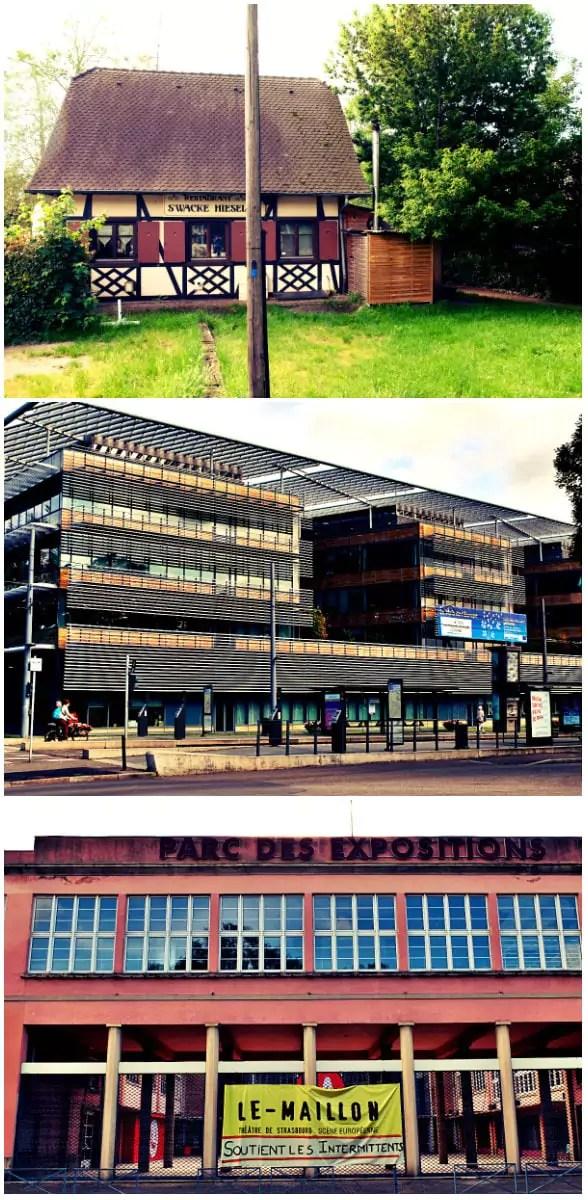 Au bout de l'avenue Schutzenberger (Photos MM / Rue89 Strasbourg)