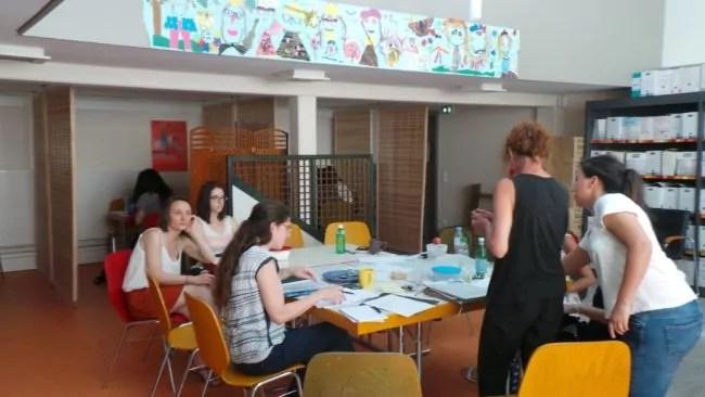 L'équipe de Casas est composé de 3 salariés et de dizaines de bénévoles (Photo TU / Rue89 Strasbourg)