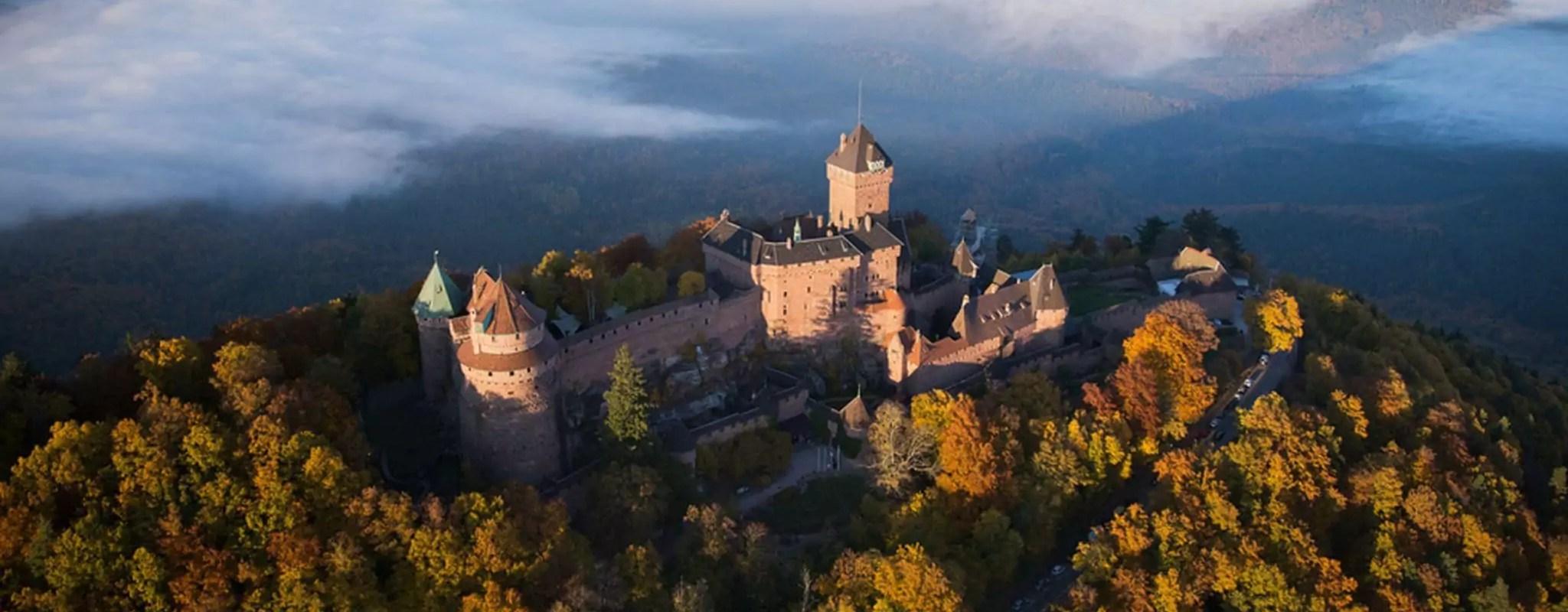 À l'assaut des châteaux forts à une heure de Strasbourg