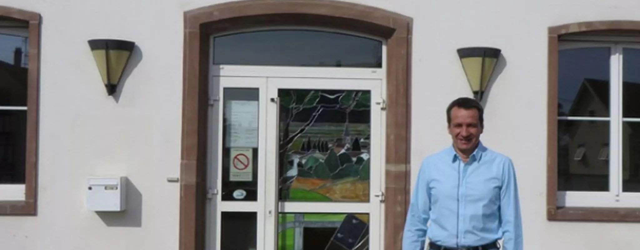 À Niederhausbergen, le maire Jean-Luc Herzog n'écoute plus personne