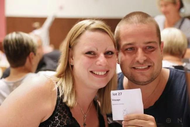 Jérôme et Émilie ont gagné le gros lot : un voyage (photo LL / Rue89 Strasbourg)