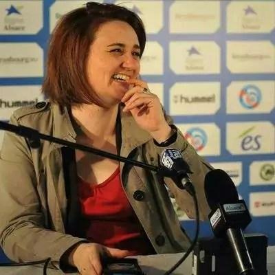Lucile Guillotin : «je suivrai le Racing jusqu'à la fin de ma vie»