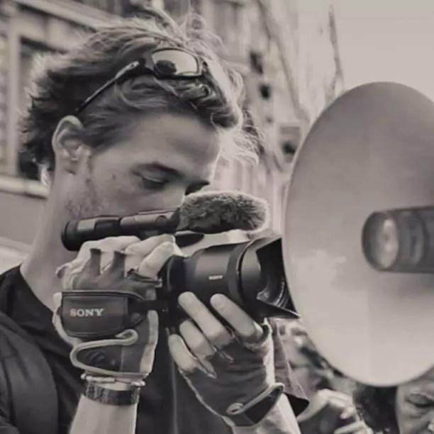 Le reporter strasbourgeois Gaspard Glanz (photo Facebook)