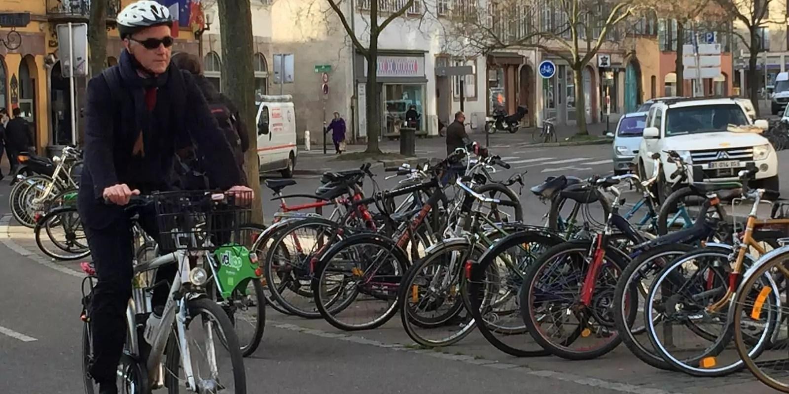 Un Strasbourgeois sur six va travailler à vélo