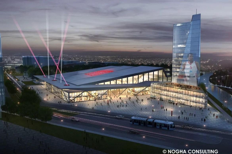 Le Crédit mutuel sera le sponsor de la future SIG Arena