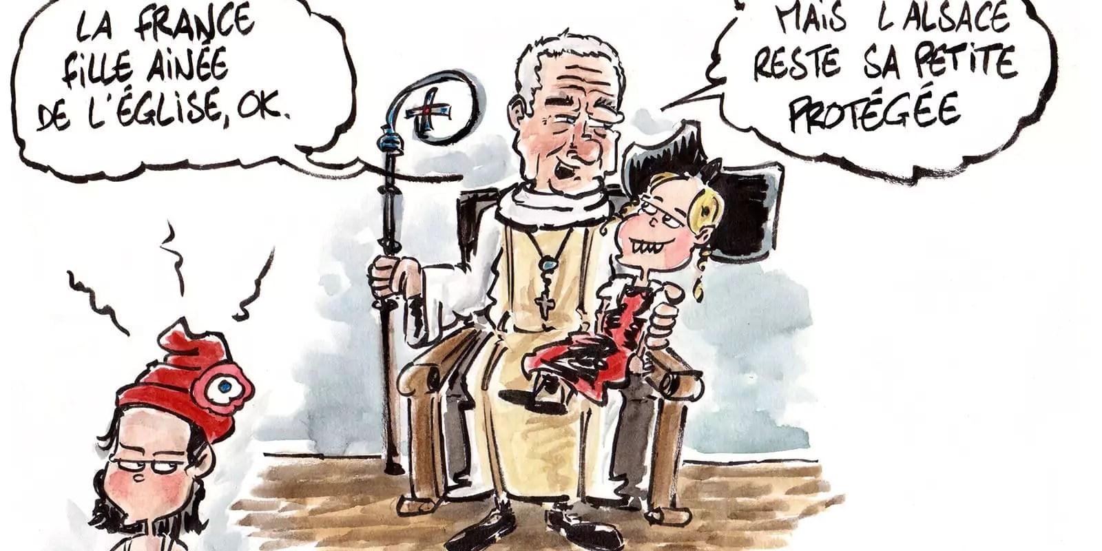 Le nouvel archevêque de Strasbourg s'empresse de chanter les louanges du concordat
