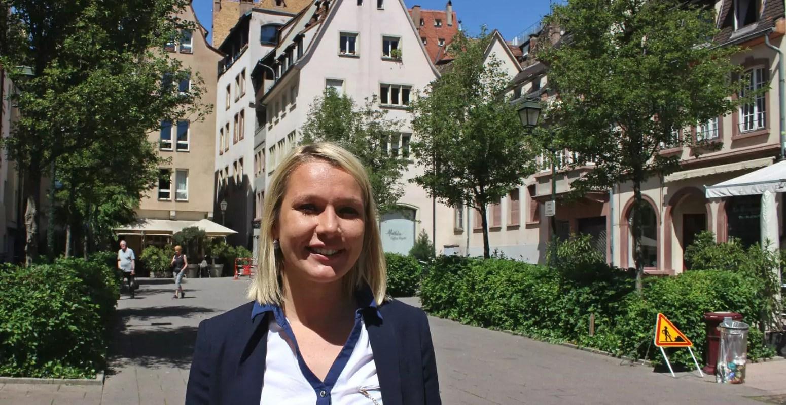 Candidate de droite à Strasbourg, Elsa Schalck prête à voter des lois d'Emmanuel Macron