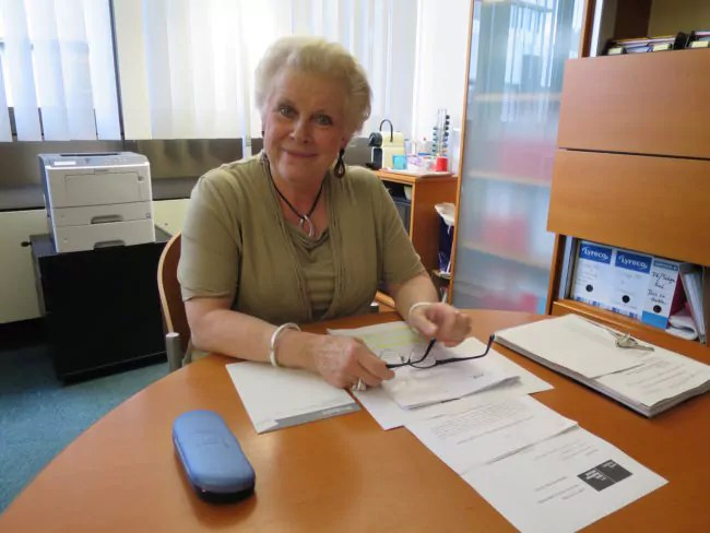 """Catherine Trautmann, à la tête de la """"Task-Force"""" connaît pour le mieux le Parlement européen : elle y a siégé pendant dix ans, entre 2004 et 2014. (Photo CS / Rue89 Strasbourg / cc)"""