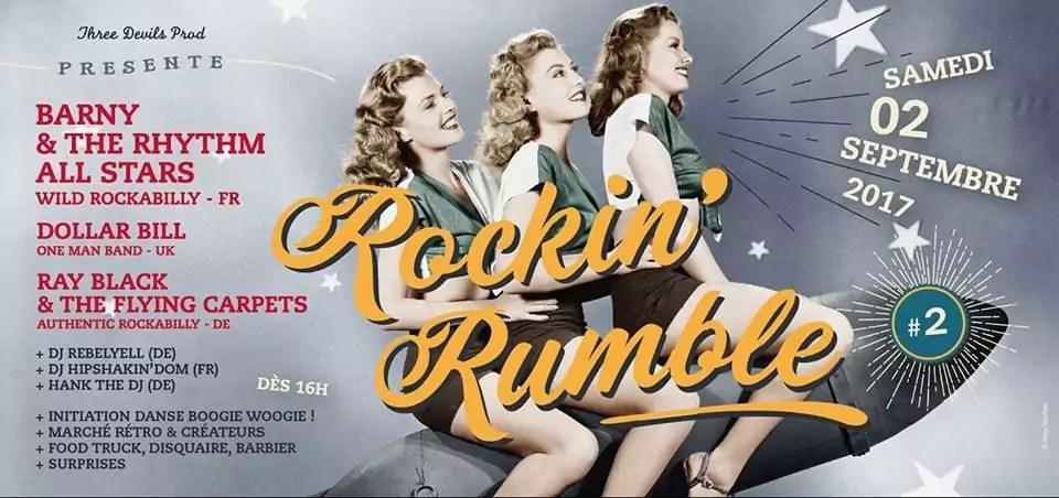 Rockin'Rumble 2 : place au rock'n'roll !