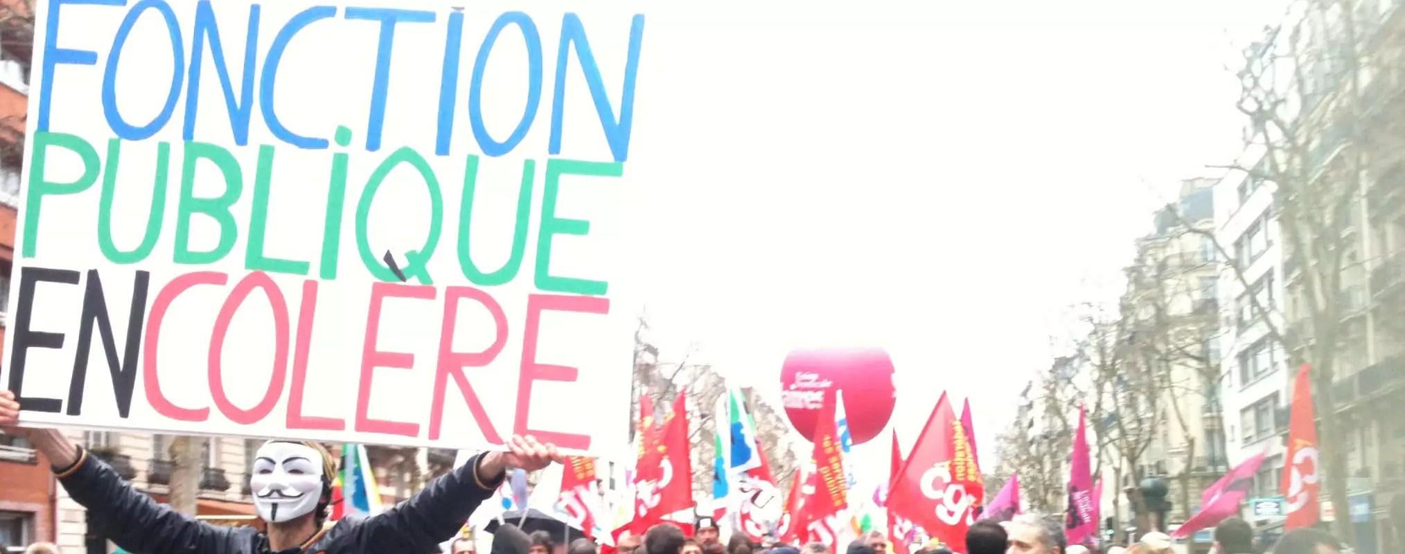 Mobilisation des syndicats de la fonction publique mardi, cantines et dizaines d'écoles fermées