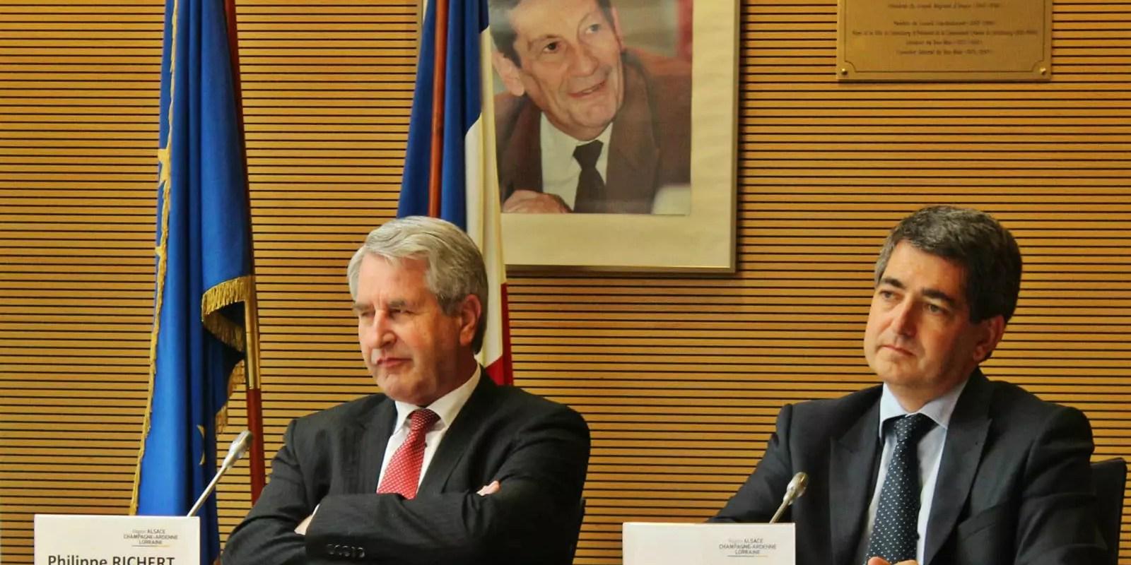 Le maire de Mulhouse Jean Rottner, futur président du Grand Est