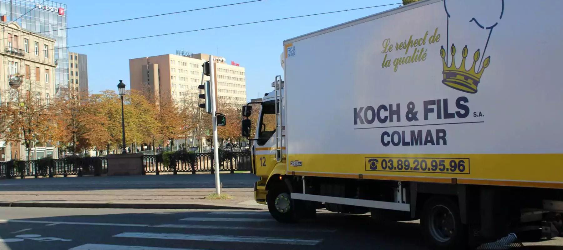 Vers la fin du diesel après 2021 pour les livraisons au centre-ville de Strasbourg