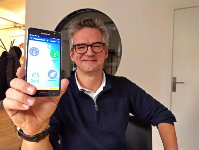 Olivier Luet est le cofondateur de la société et le responsable marketing (Photo PF / Rue89 Strasbourg / cc)