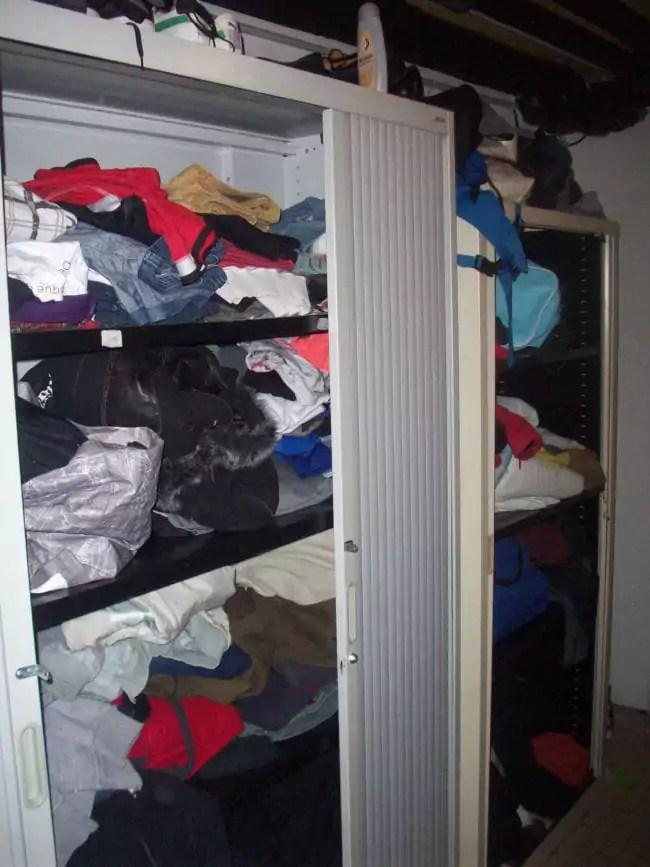 Nombreux sont ceux qui se sont mobilisés pour donner des vêtements aux réfugiés de Bernanos (Photo DL / Rue 89 Strasbourg / cc)