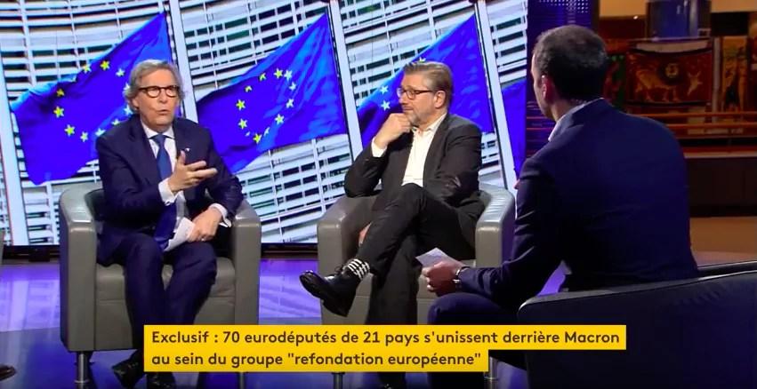 Un groupe pro-Macron au Parlement européen? Surtout un gros coup de bluff