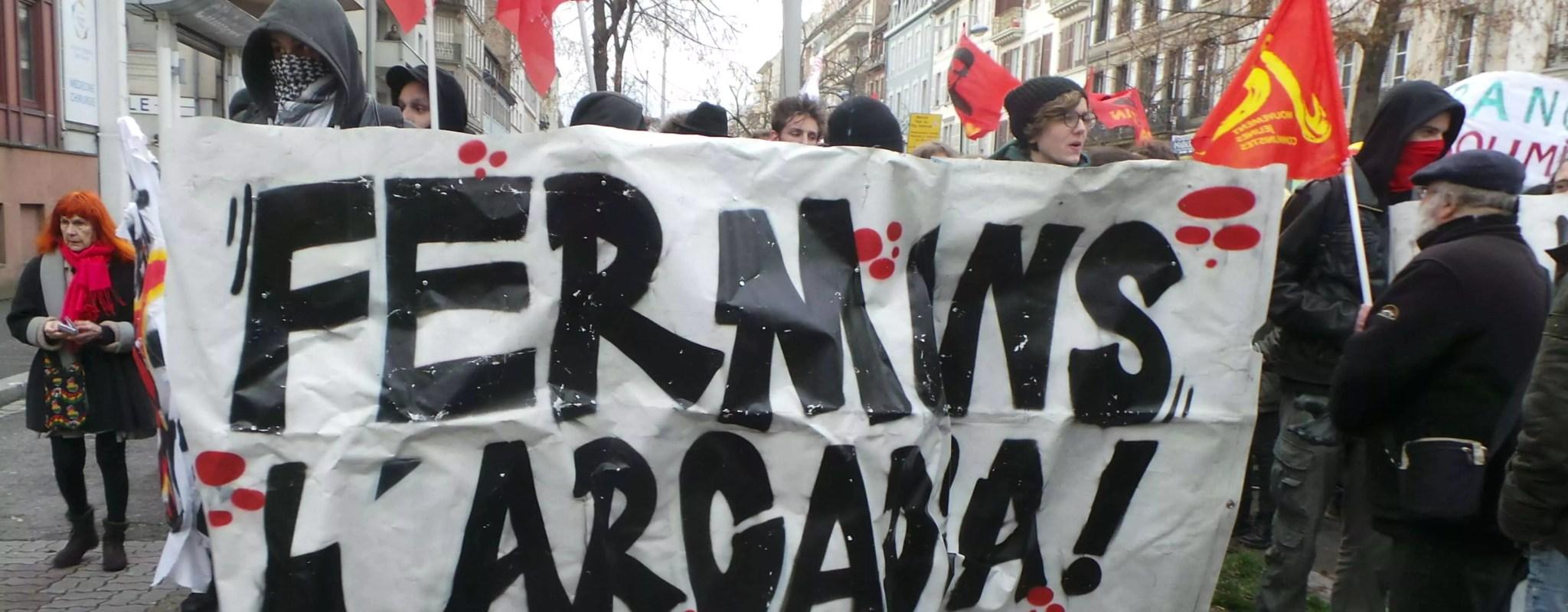 Contre le «Bastion social» à Strasbourg, 350 manifestants ont dénoncé une nouvelle idéologie fasciste