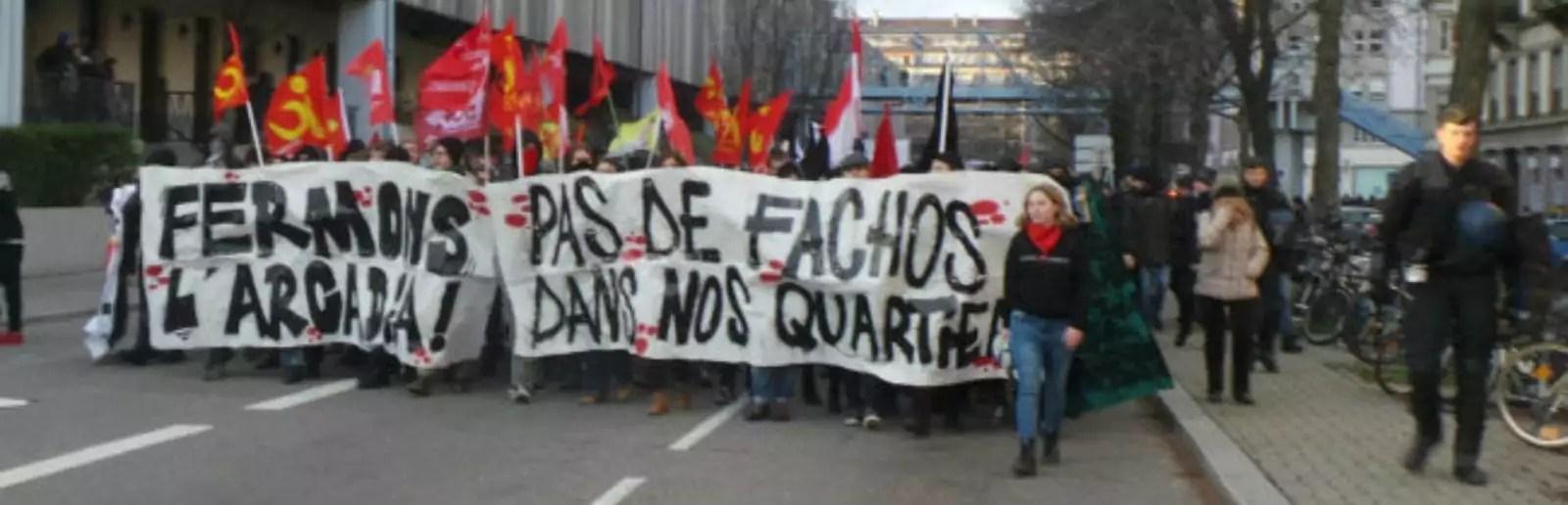 Deuxième manifestation samedi pour la fermeture de l'Arcadia à Strasbourg
