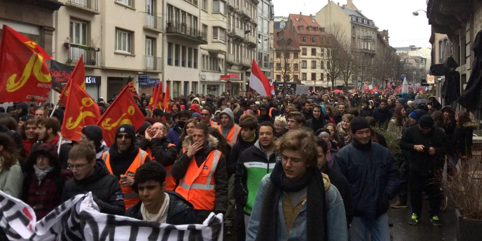 Grève et manifestation pour la «défense de la fonction publique» mardi à Strasbourg