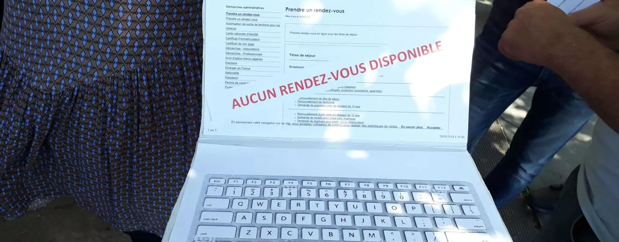 Chaque dimanche, le cauchemar nocturne des étrangers en France pour leurs papiers