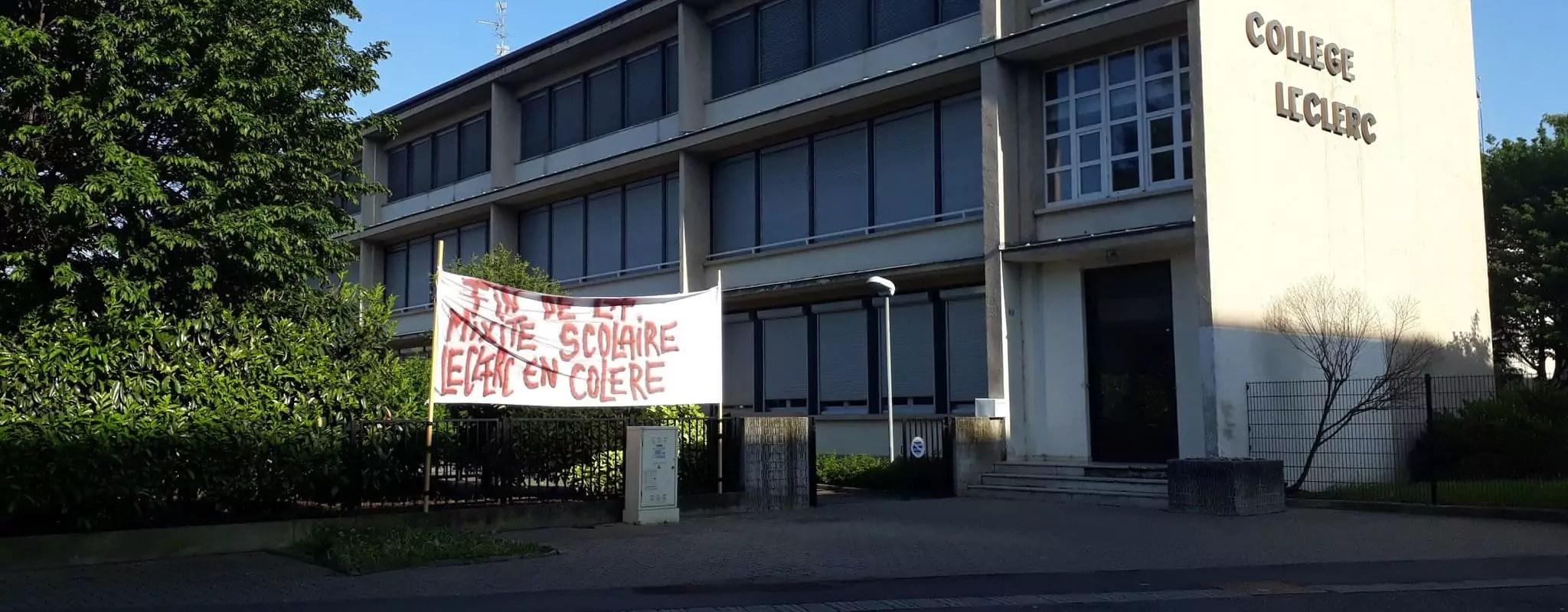 À Schiltigheim, un collège se mobilise contre une «ghettoïsation programmée»