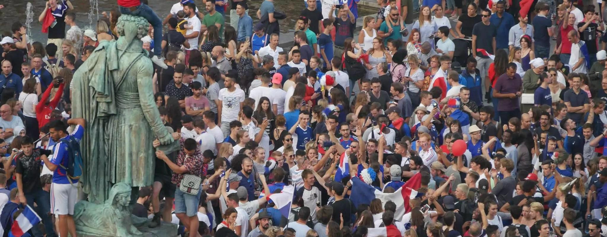 Coupe du monde : Strasbourg en fête après la victoire des Bleus!