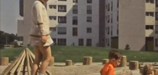 Quand Hautepierre était construit dans les années 1970, un quartier moderne à l'ouest de Strasbourg