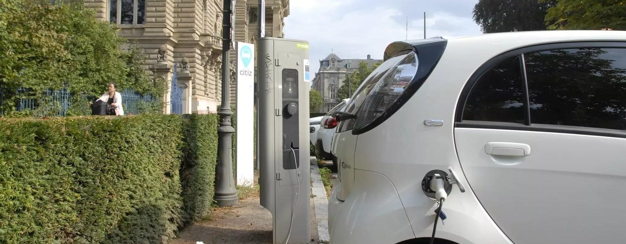 Le nombre de bornes pour voitures électriques va exploser à Strasbourg en 2019