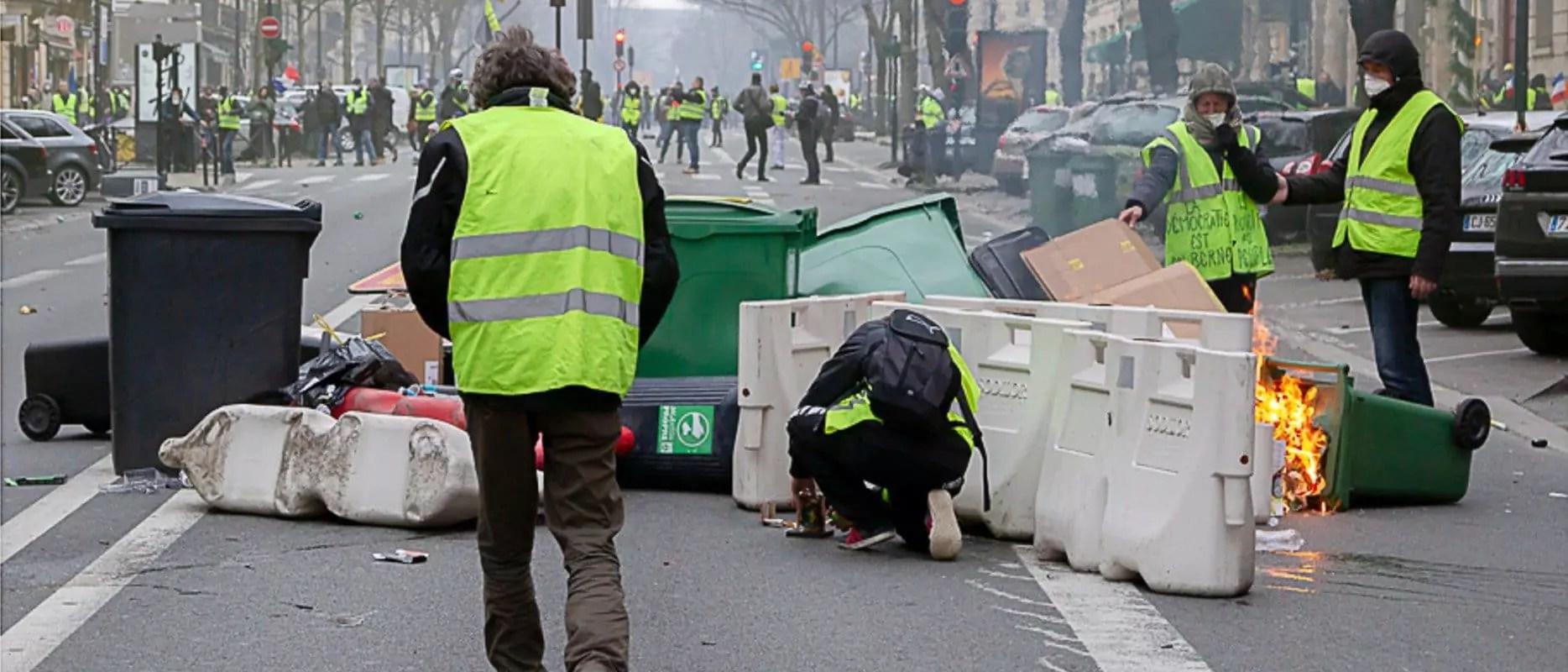 Un membre du Bastion Social Strasbourg condamné pour des violences à Paris avec des Gilets jaunes