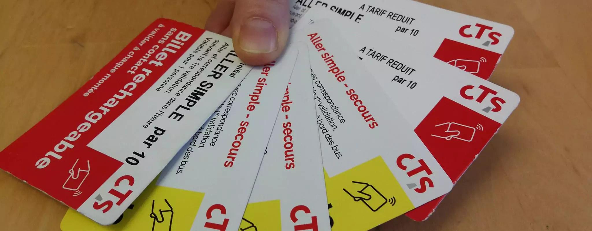 Billet sans contact: moins d'un ticket sur deux est rechargé