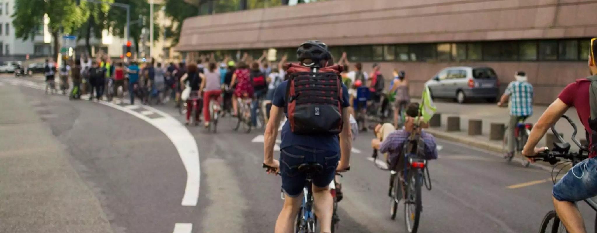 Manifestation à vélo vendredi suite au décès d'une cycliste à Schiltigheim