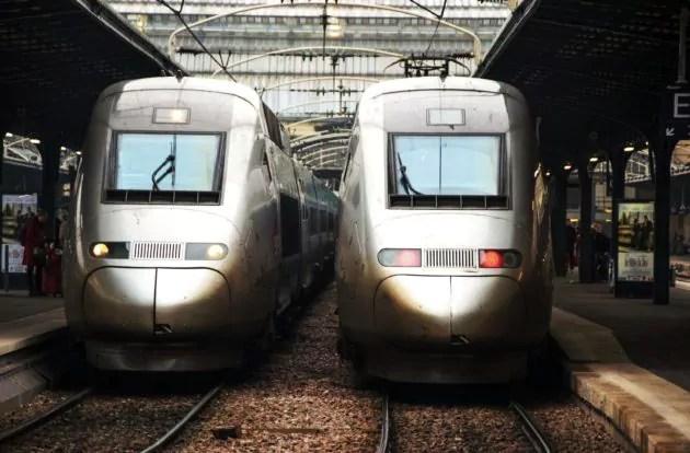 Des TGV gare de l'Est à Paris en 2011 (Photo Bastiaan_65 / FlickR / cc)