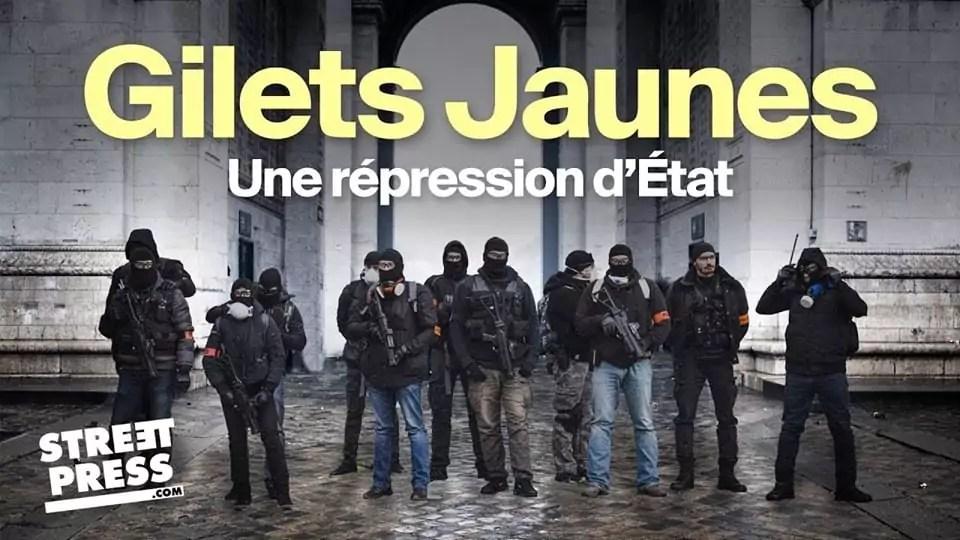 Gagnez des places pour le Ciné-débat «Gilets jaunes : une répression d'État»