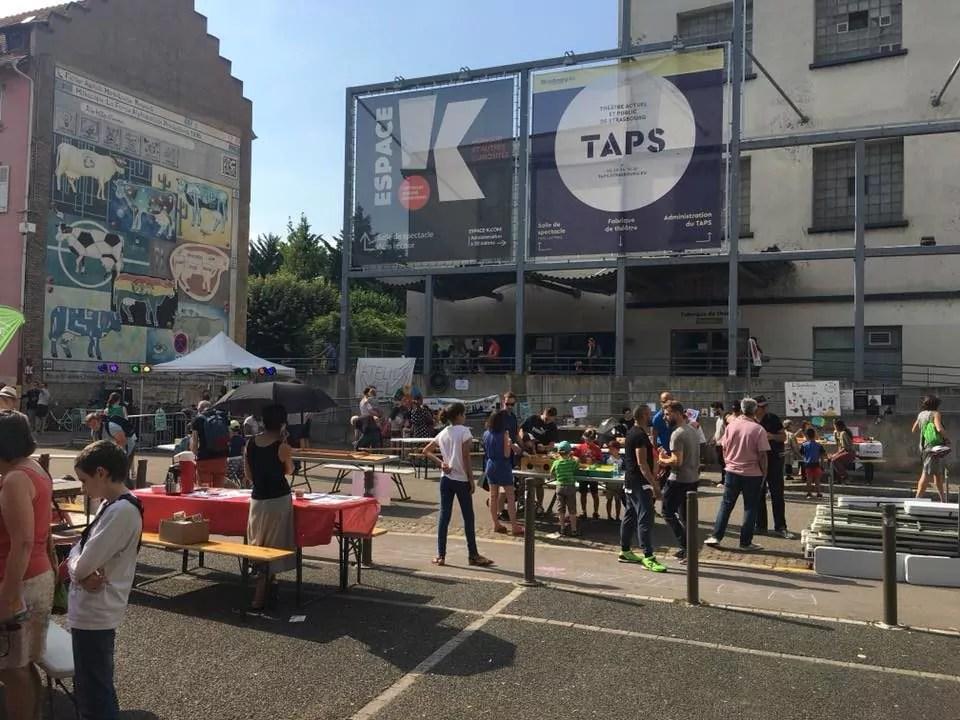 Samedi, un festival de théâtre se greffe sur la fête du quartier Gare