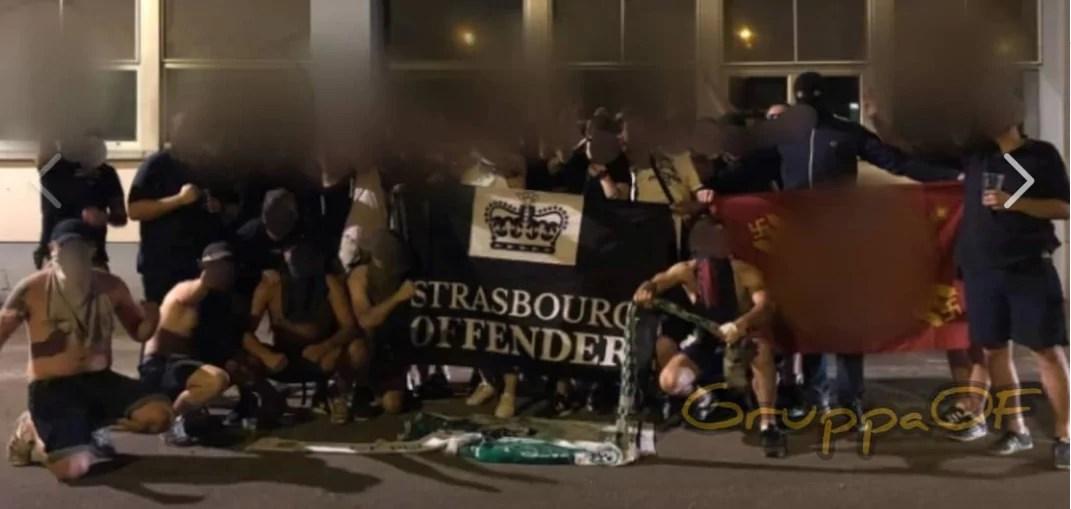 Croix gammées, saluts nazis et écharpes israëliennes brûlées en marge du match Racing – Haïfa