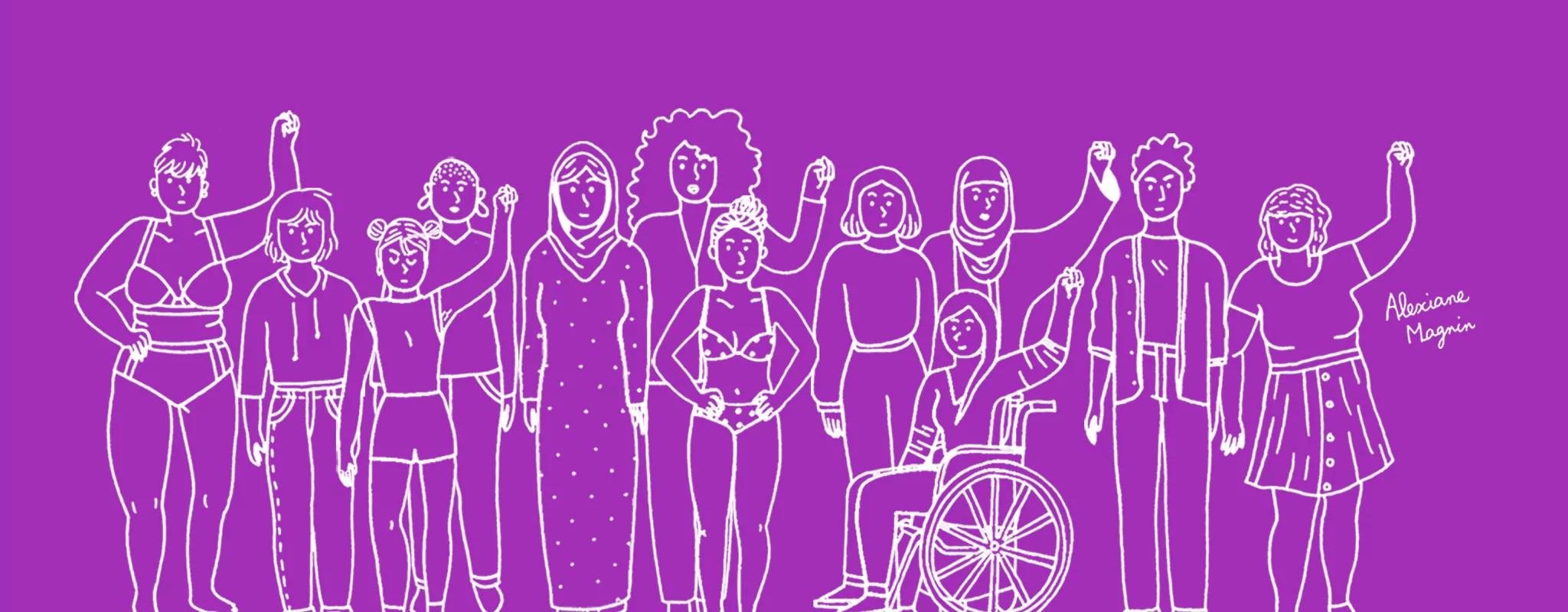 Une marche contre les violences faites aux femmes samedi