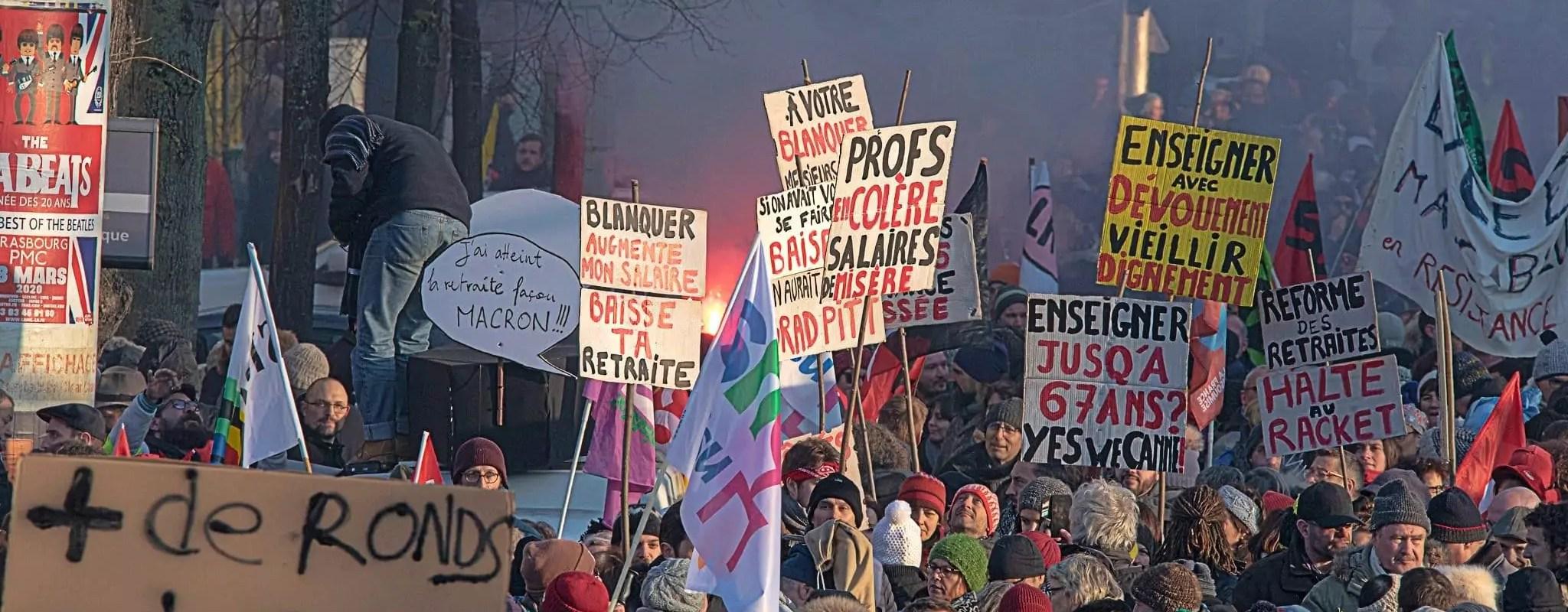 10e manifestation contre la réforme des retraites jeudi