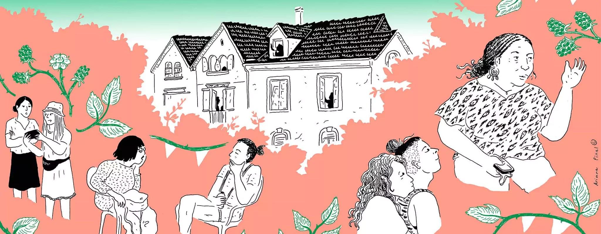 Sous les ailes de La Pigeonne, un squat sûr pour femmes et queers
