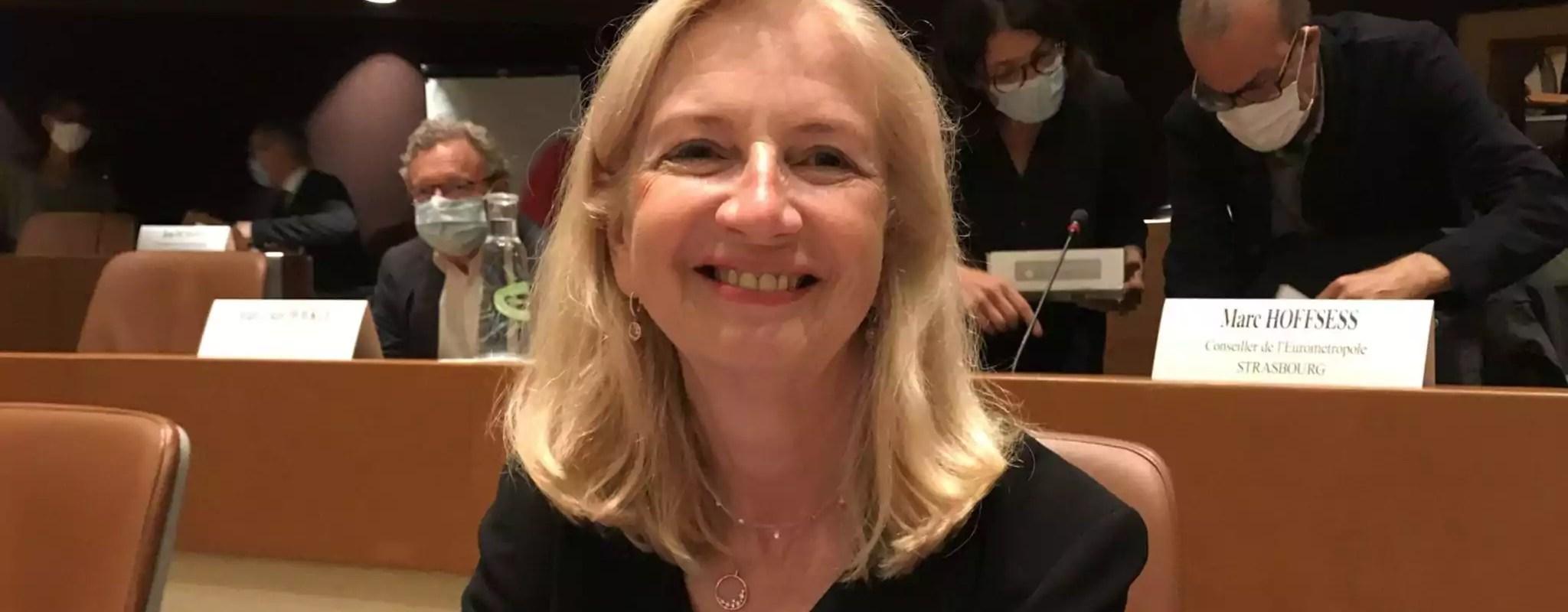 Pia Imbs élue présidente de l'Eurométropole de Strasbourg