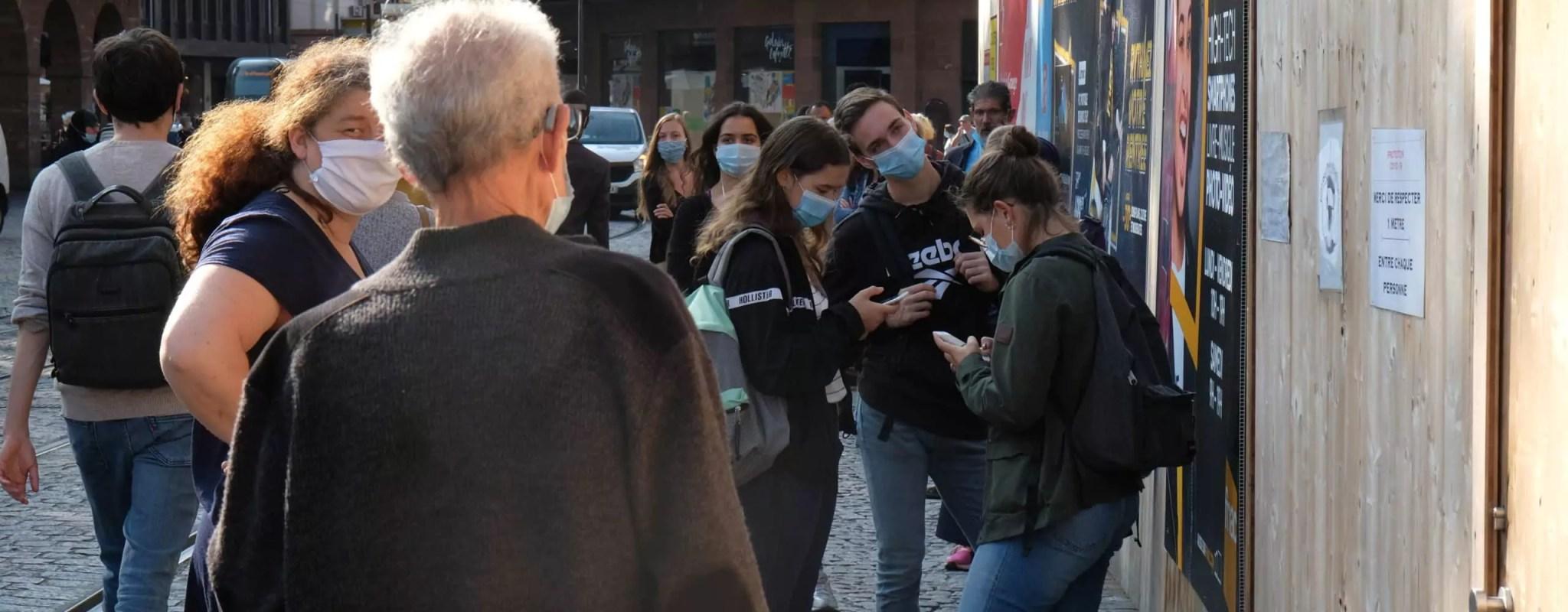 Troisième recours contre les masques obligatoires à l'extérieur à Strasbourg