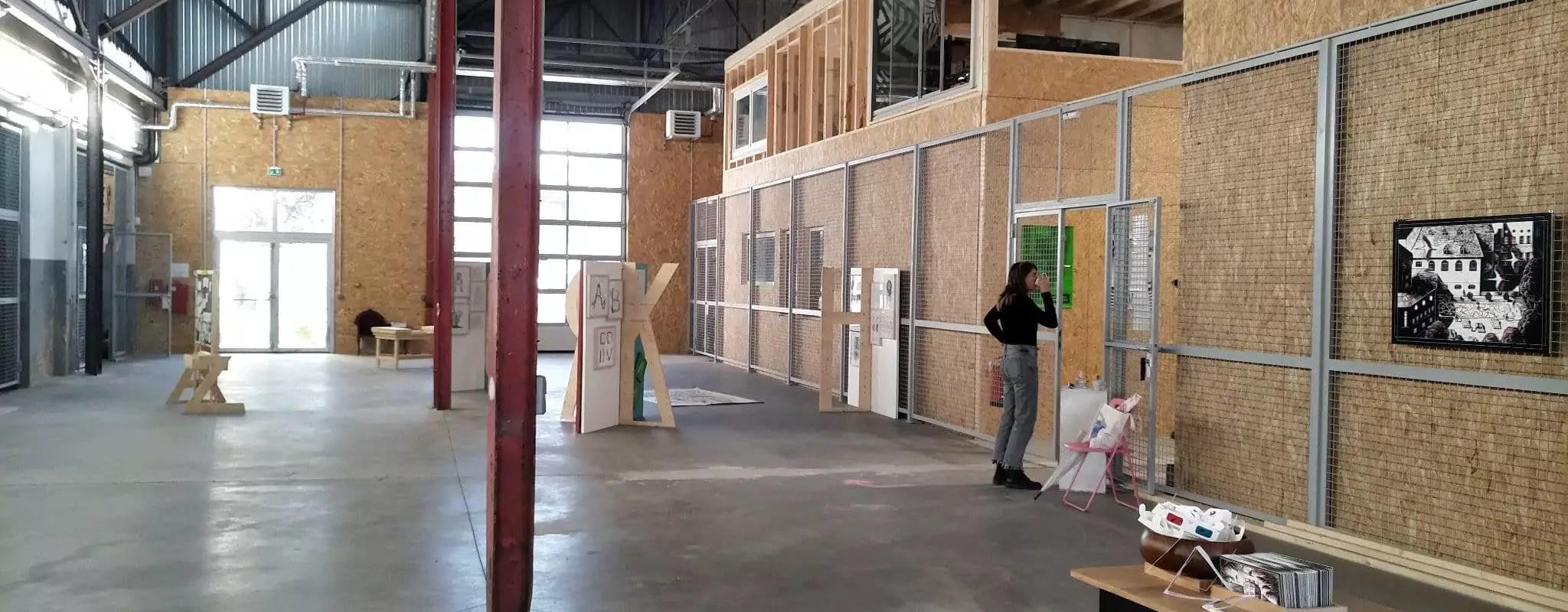 Aux Ateliers ouverts de la Coop, une effervescence artistique étouffée par la pandémie