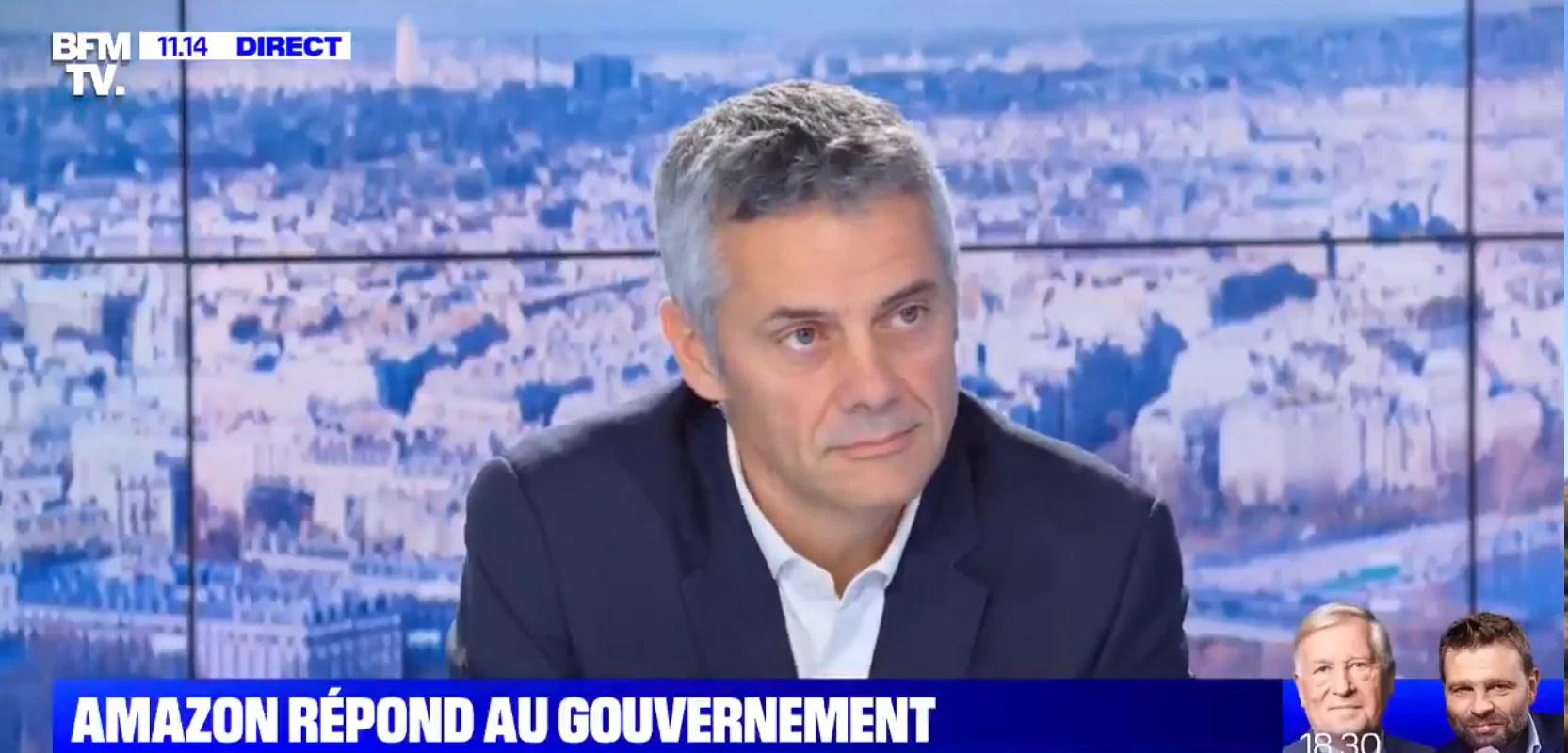 «Pas de projet en Alsace»: le directeur d'Amazon France oublie Dambach-la-Ville