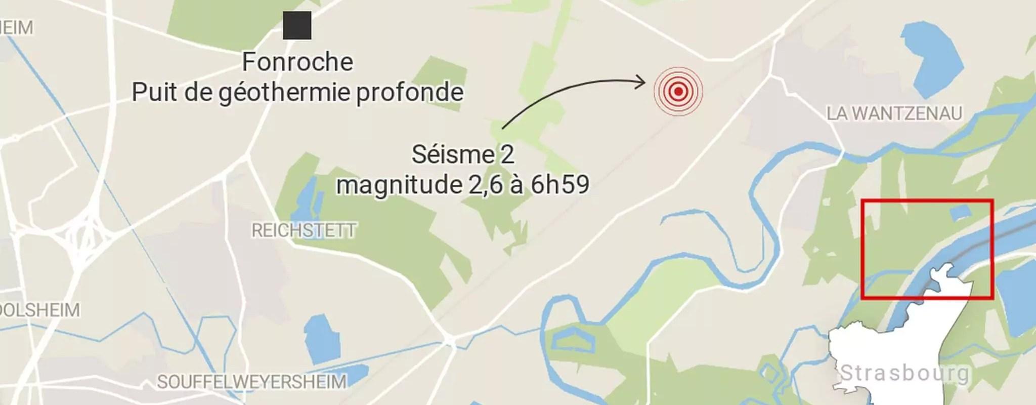 Après trois séismes au nord de Strasbourg, Fonroche annonce un arrêt complet temporaire du puits de géothermie