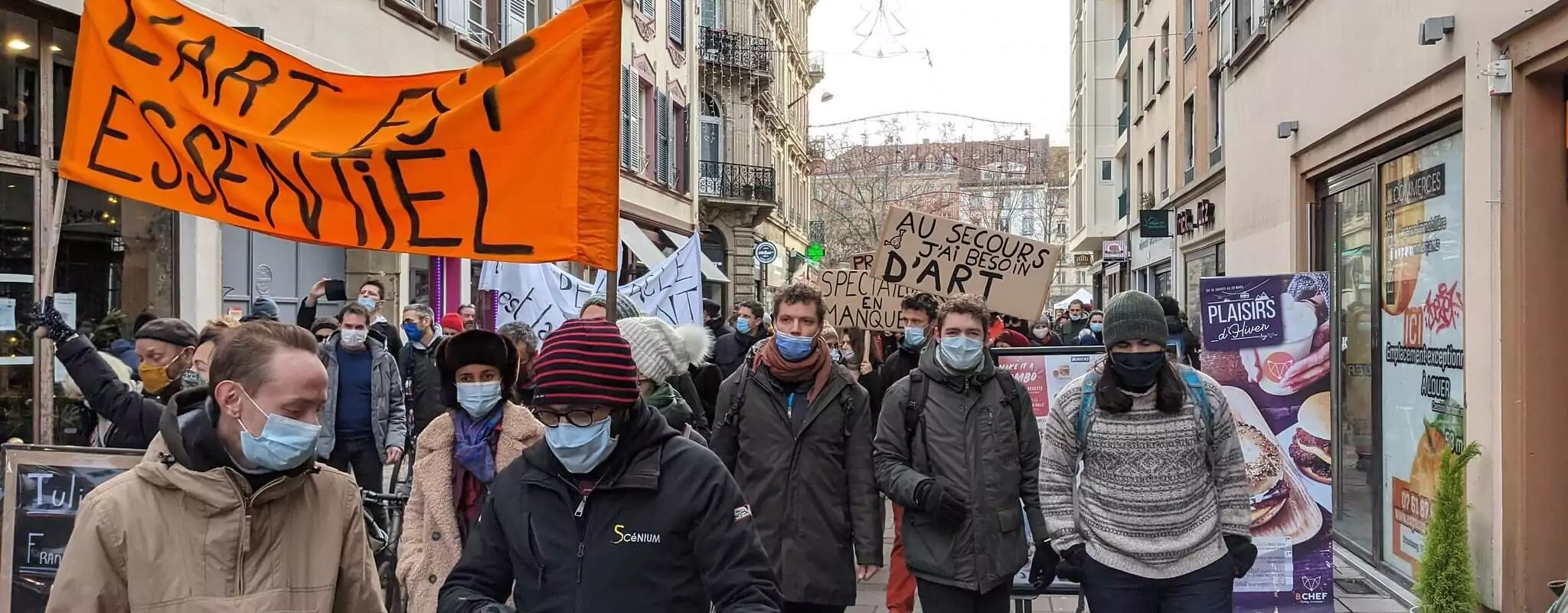 À Strasbourg, une marche fleurie pour célébrer la culture et les lieux de convivialité,  dimanche