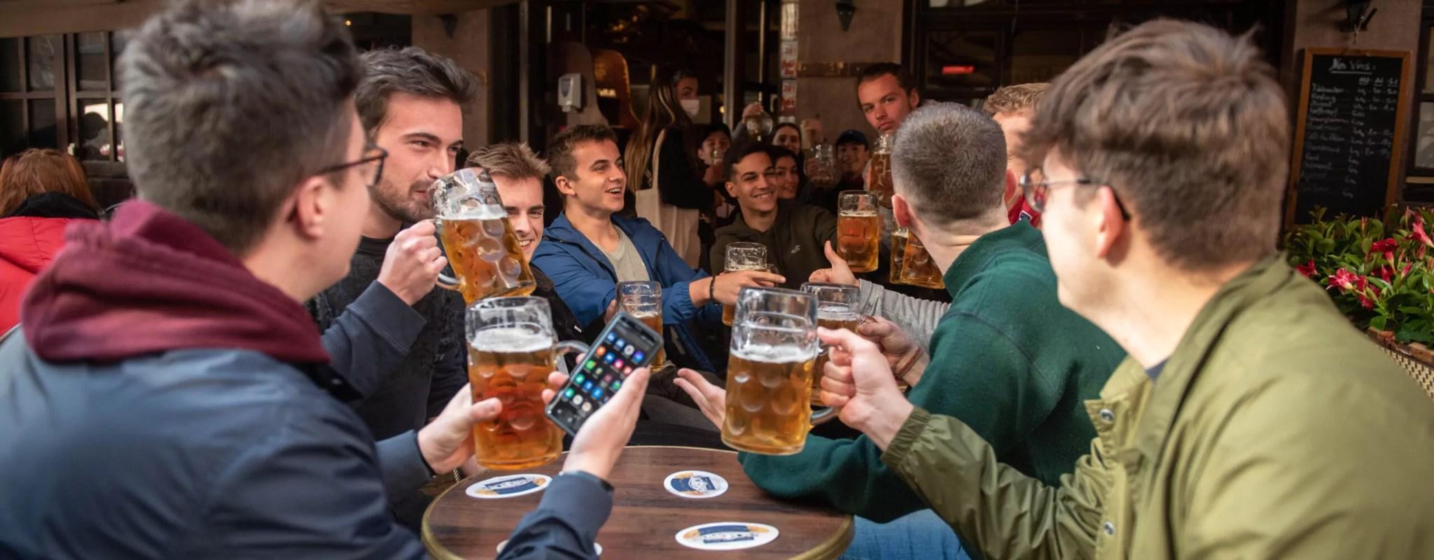 Réouverture des bars et restaurants : quand l'effervescence regagne les rues de Strasbourg