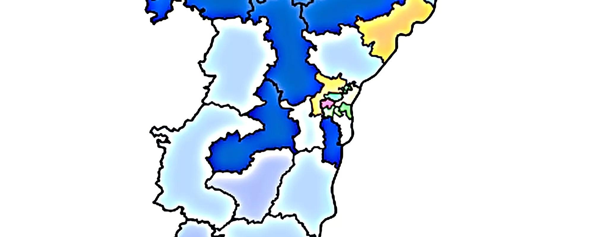 Départementales: confirmation des écologistes à Strasbourg, l'Alsace toujours ancrée à droite