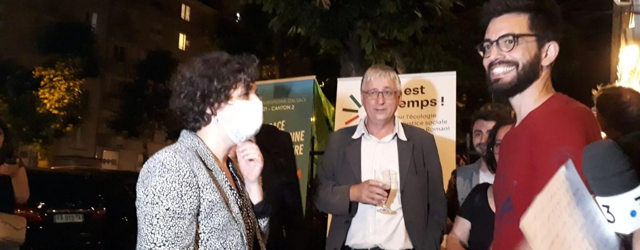 Départementales à Strasbourg: les écolos bousculent les Socialistes, pas la droite
