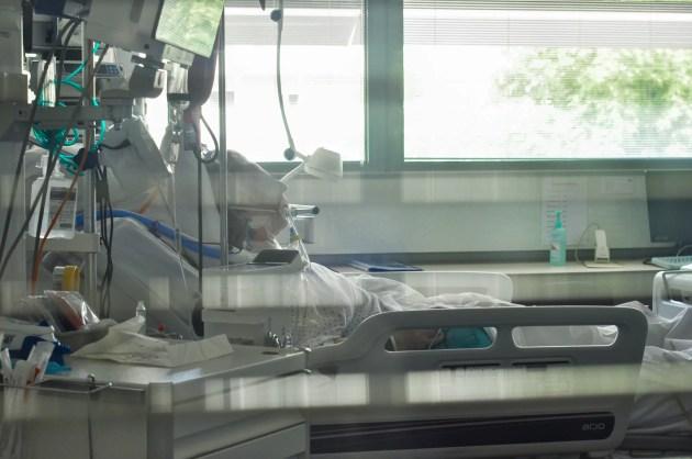 Patient en réanimation aux HUS le 28 juillet 2021