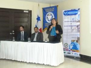 Lanzamiento de la Rueda de Negocios  2014, en la Cámara de Comercio, Industrias y Agricultura de Panamá.